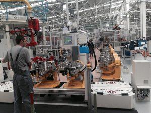 piese de schimb linie productie