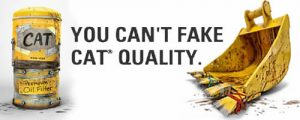 fals vs original piese de schimb caterpillar